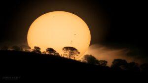 لکه های خورشید — تصویر نجومی