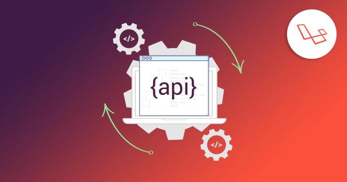 تصویر مربوط به ساخت API در آموزش لاراول