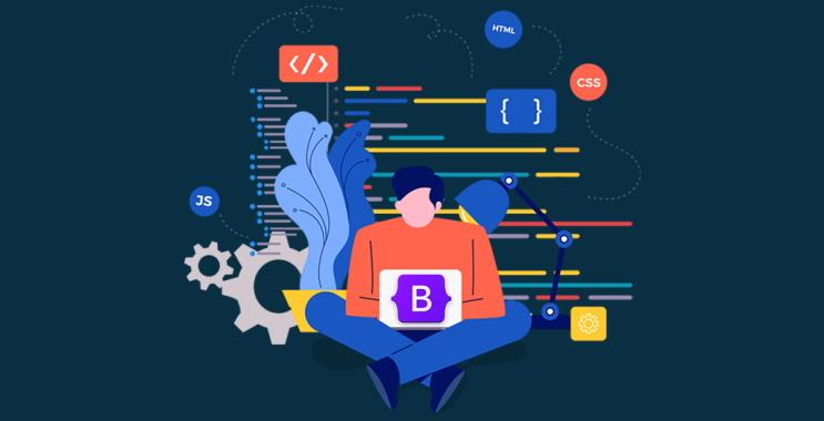 تصویر مربوط به معرفی جاوا اسکریپت، HTML و CSS در مقاله «فریمورک بوت استرپ چیست ؟»