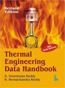 هندی بوک دادههای مهندسی حرارت توسط B Sreenivasa Reddy