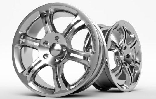 طرحی از چرخهای قابل ساخت توسط روش ریخته گری دایکاست