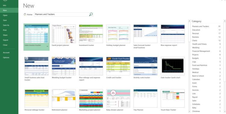 قالب های آماده برای برنامه ریزی و پیگیری پروژه در اکسل