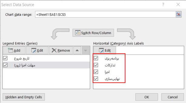 اضافه شدن عنوانها به تنظیمات