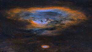 سحابی NGC 7822 — تصویر نجومی