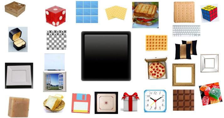 مثالهایی از وسایل مربعی شکل در دنیای واقعی
