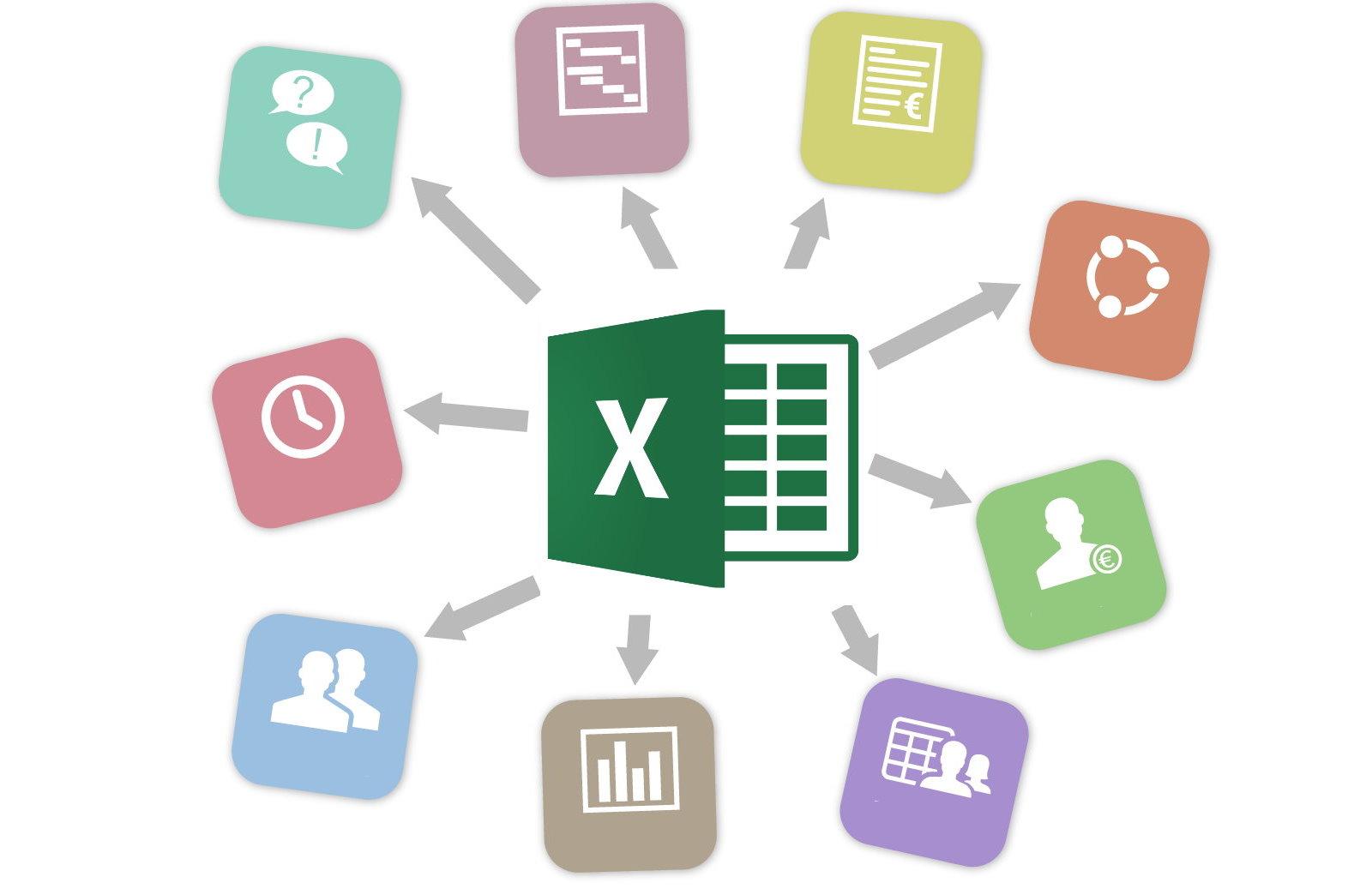 مدیریت پروژه در اکسل — راهنمای جامع و تصویری + مثال کاربردی