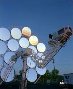 موتور استرلینگ و انرژی خورشیدی